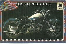 RARE / CARTE TELEPHONIQUE - MOTO HARLEY DAVIDSON 1957 SPORTSTER USA / PHONECARD