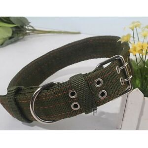 Adjustable Heavy Duty Large Dog Collar Neck Buckl Large Breed Nylon Collars XL L