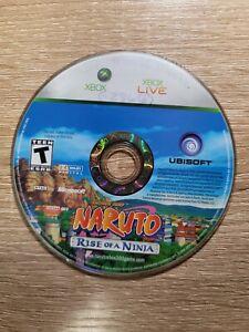 Naruto: Rise of a Ninja (Microsoft Xbox 360, 2007)