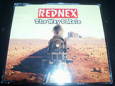 Rednex The Way I Mate Australian Remixes CD Single - Like New
