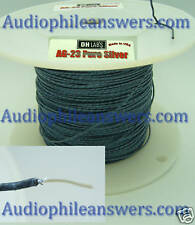 DH Labs AG-23 Solid Silver Hook up wire DIY