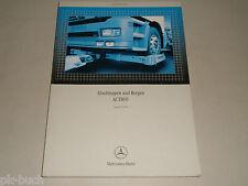 Leitfaden Abschleppen Bergen f. Abschleppdienst Mercedes Benz LKW Actros, 2004