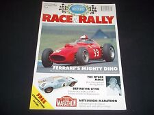 FIRST EVER ISSUE HISTORIC RACE AND RALLY MAGAZINE - VINTAGE AUTO ADS - D 2043