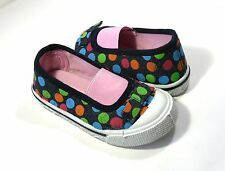 Toddler Girls Slip-on Canvas Shoes Size 9