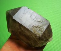 1.37lb the natural beauty of the dark brown crystal bone specimens+blisters