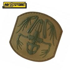 Patch in PVC Frog Skull NAVY SEALS 7 x 7,5 cm CY Militare Softair con Velcrogrip