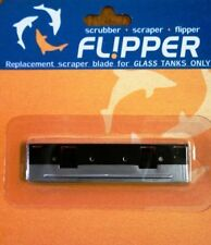 Flipper Normal Stainless steel blades are for glass aquariums only