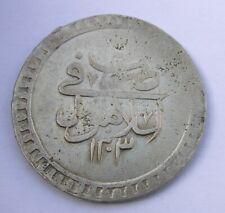 OTTOMAN EMPIRE/TURKEY ISLAMIC AH1203/2 AD 1789 SILVER COIN 80 PARA SELIM III