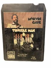 Marvin Gay Trouble Man 8 Track Tested & Works 1972