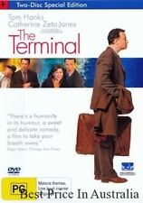 The Terminal DVD BRAND NEW SEALED TOP 1000 MOVIES Tom Hanks R4