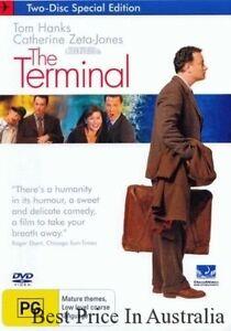 The Terminal DVD  TOP 1000 MOVIES Tom Hanks BRAND NEW R4