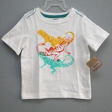 Size 18-24M - Nwt Gymboree Crazy 8 Boys White Cotton Lizard Short Sleeve T-shirt