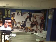 NEW BIG! 44x28 MIKE BOSSY vinyl Banner Poster New York Rangers Brian leetch ART