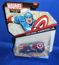 COMIC BOOK STYLING COLLECTOR HOT WHEELS CAPTAIN AMERICA CHARACTER CARS #2 OF 4