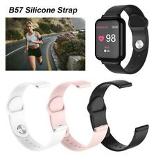 Soft Silicone Strap Replacement Bracelet Wristband 18mm For B57 Smart Watch