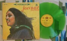 Joan Baez LP 5 Taiwanese Press Green Vinyl VG+/VG+