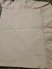 Rachel Ashwell Shabby Chic Pillow Sham Pale Pink Floral Print Ruffle Standard