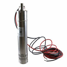 New 24Vdc 5000L/H 30m Head Brushless Solar Water Pump Submersible Deep Well Pump