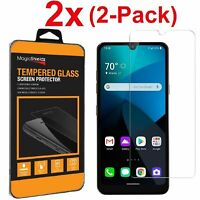 2-Pack Premium Tempered Glass Screen Protector For LG Premier Pro Plus (L455DL)