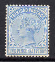 Trinidad 1883 QV 2½d bright blue SG 108 mint