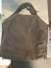 Genuine Authentic Stella mccartney falabella bag 3 Chain Grey Suede Bag