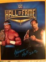 Authentic signed All American Ron Simmons WWE Hall of Fame 8x10 photo NWA WWF