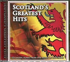 SCOTLAND'S GREATEST HITS CD - 500 MILES, LOCH LOMOND & MORE