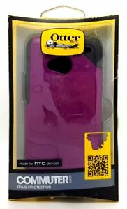 Otterbox Commuter Series Dual Layer Shockproof Case Cover For HTC One Purple