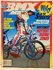 September 1988 BMX Action Magazine Skyway HARO Diamondback Rick Palmer Cover