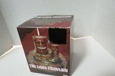 "Tiki Tea Light Water Fountain 6"" Battery Operated New In Open Box Centerpiece"