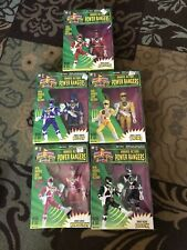 Vintage Five Mighty Morphin Power Rangers Collectible Figures Unopened! 8�.