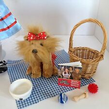"""Toto + Wizard of Oz Dorothy's Pet Dog for American Girl Doll 18"""" Accessories SET"""