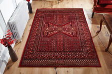 QUALITY RUST RED Traditional Afghan Tribal Nomadic Rug Runner 100% Wool 35% OFF