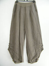 Linen Patternless Casual Plus Size Skirts for Women