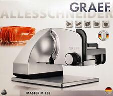 Graef Master 188 Allesschneider,Aufschnittmaschine,Brotschneider,Kippsschneider