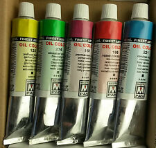 5 de su elección, 84 colores Maestro Pan Profesional artista pintura de aceite 45ml