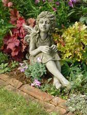 "Gartendeko Figur Skulptur Elfe ""FLEUR""  Pheeberts by Fiona Scott Steinguss"