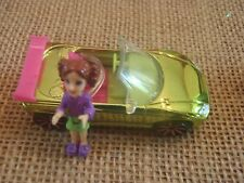 Polly Pocket Wheels Race to the Mall Cars Origin Mini Drivers Green Convertible