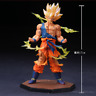 Anime Dragon Ball Z Super Saiyan Goku PVC Action Figure Figurine Toy Gift 17CM