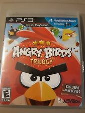 Angry Birds Trilogy Sony PS3 TESTED With Manual & Case