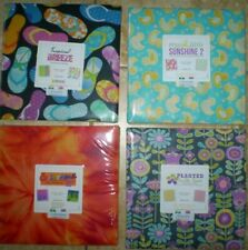 "Layer Cakes - Benartex - 10"" x 10"" squares - 100% Cotton"
