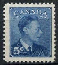 Canada 1949-51 SG#418, 5c KGVI Definitive MNH #D6942