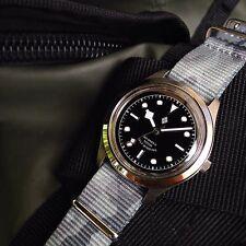 Seiko 5 Blackbay 36 Mod Snkm45 Automatic Steel Watch Snk809 Skx007