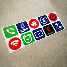 10x  NFC Tags Smart Stickers for Samsung Galaxy S5 S4 Nokia Sony NSMS