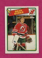 1988-89 TOPPS # 94 DEVILS SEAN BURKE  ROOKIE NRMT-MT CARD (INV# A1295)