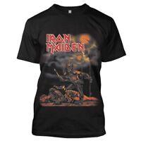 Iron Maiden T Shirt Sanctuary Official Mens Black Tee NEW Eddie. Classic Metal