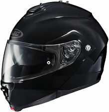 HJC IS-MAX 2 MODULAR MOTORCYCLE HELMET SOLID BLACK LARGE LG 0841-0105-06