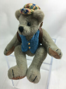 "World Of Miniature Bears Dollhouse Miniature 2.5"" Tony #851 Closeout"