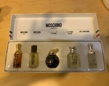 Moschino 5 piece miniature collection womens perfume gift set NIB