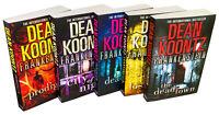 Dean Koontz Frankenstein 5 Books Collection City of Night Dead, Alive Lost Souls